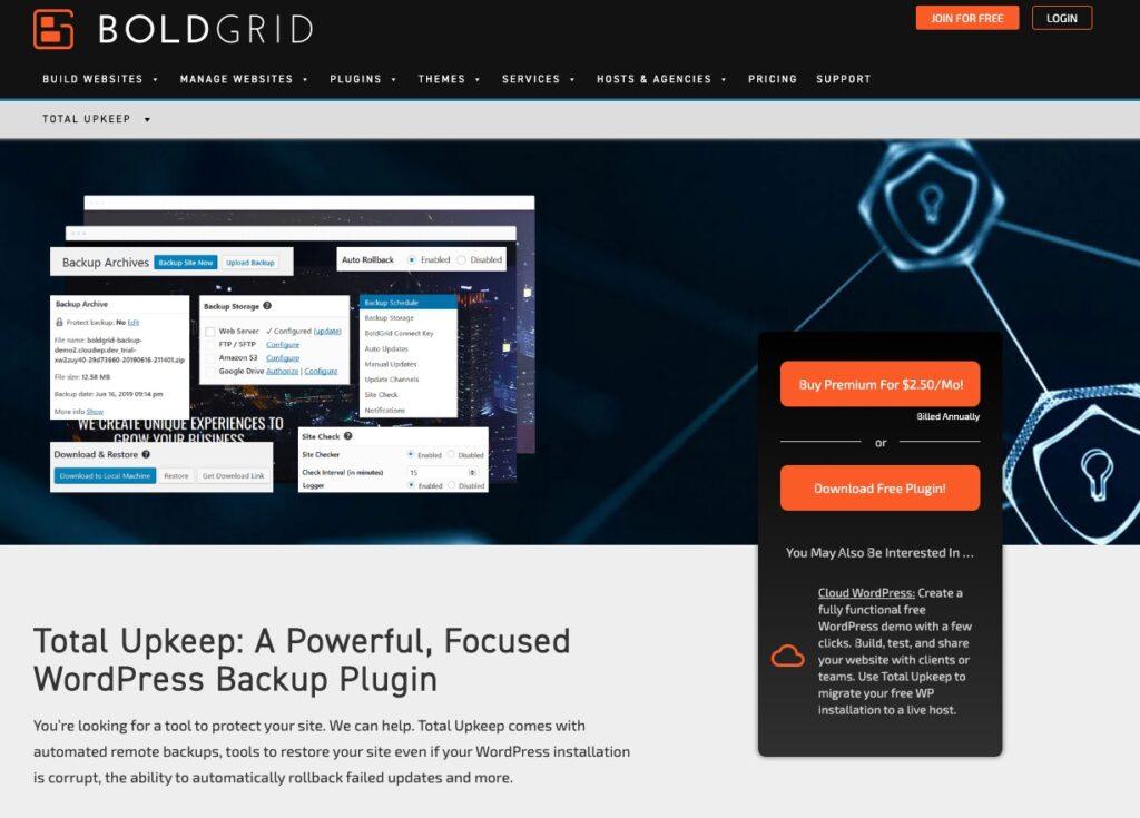 BoldGrid Backup