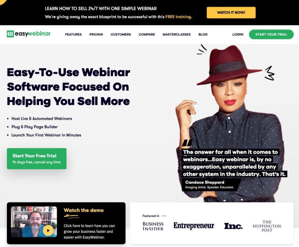 Webinar WordPress EasyWebinar