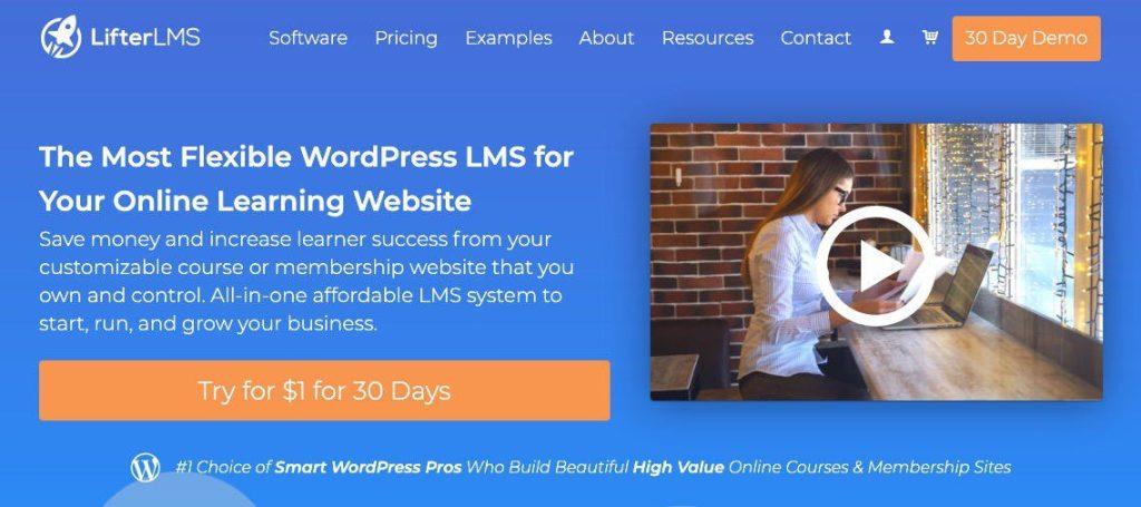 WordPress LMS LifterLMS