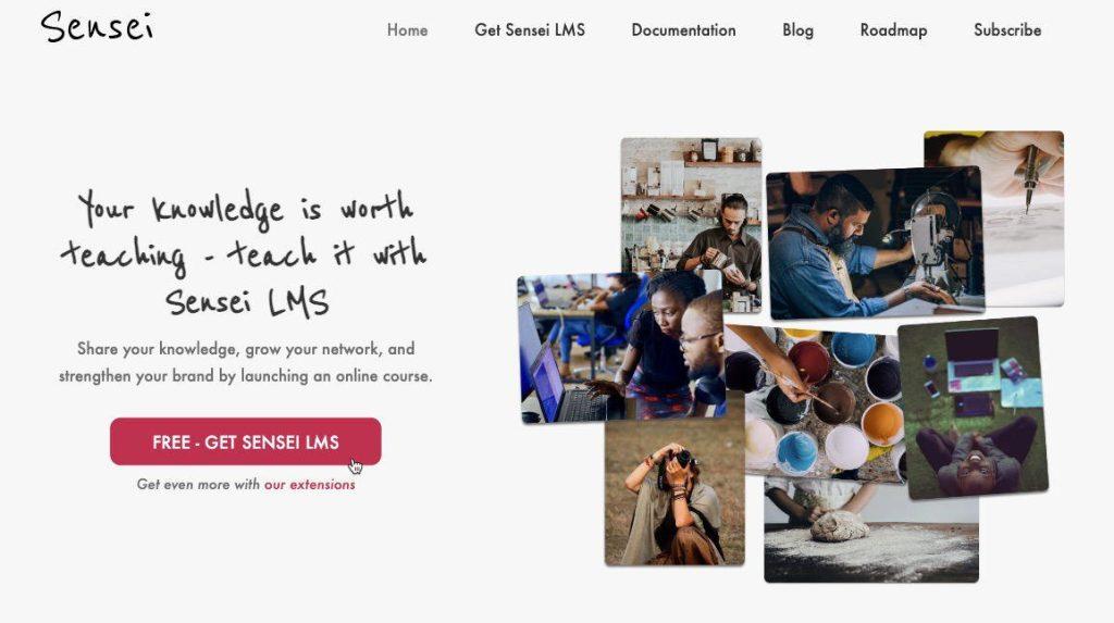 WordPress LMS Sensei LMS